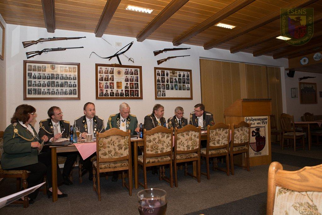 Jahreshauptversammlung Harle Schießkreis